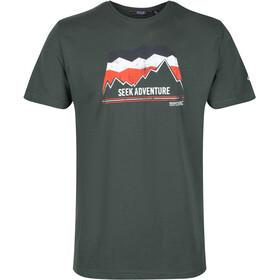 Regatta Breezed T-Shirt Men deep forest